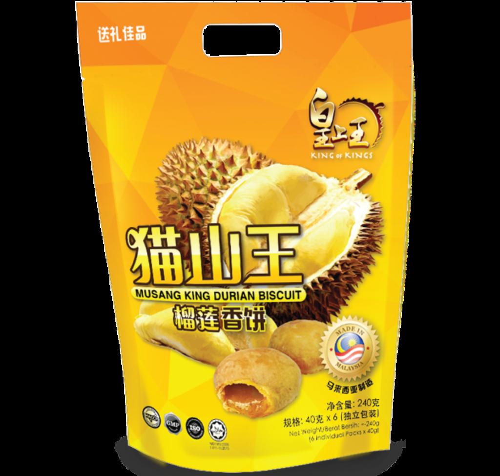 猫山王榴莲香饼